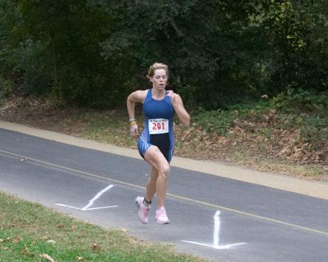 Erin running