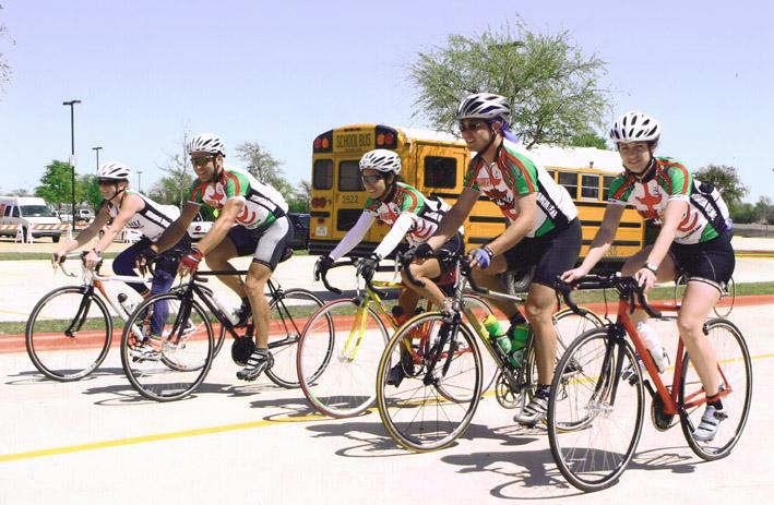 Castle Hill Fitness riders, circa 2006