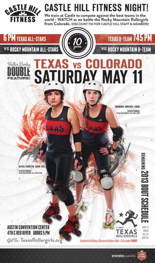 Texas Rollergirls Invite You!