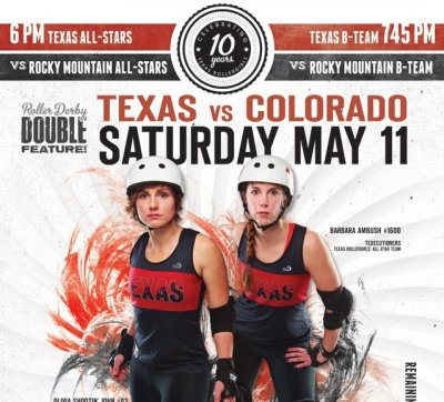 Texas Rollergirls Invite You!