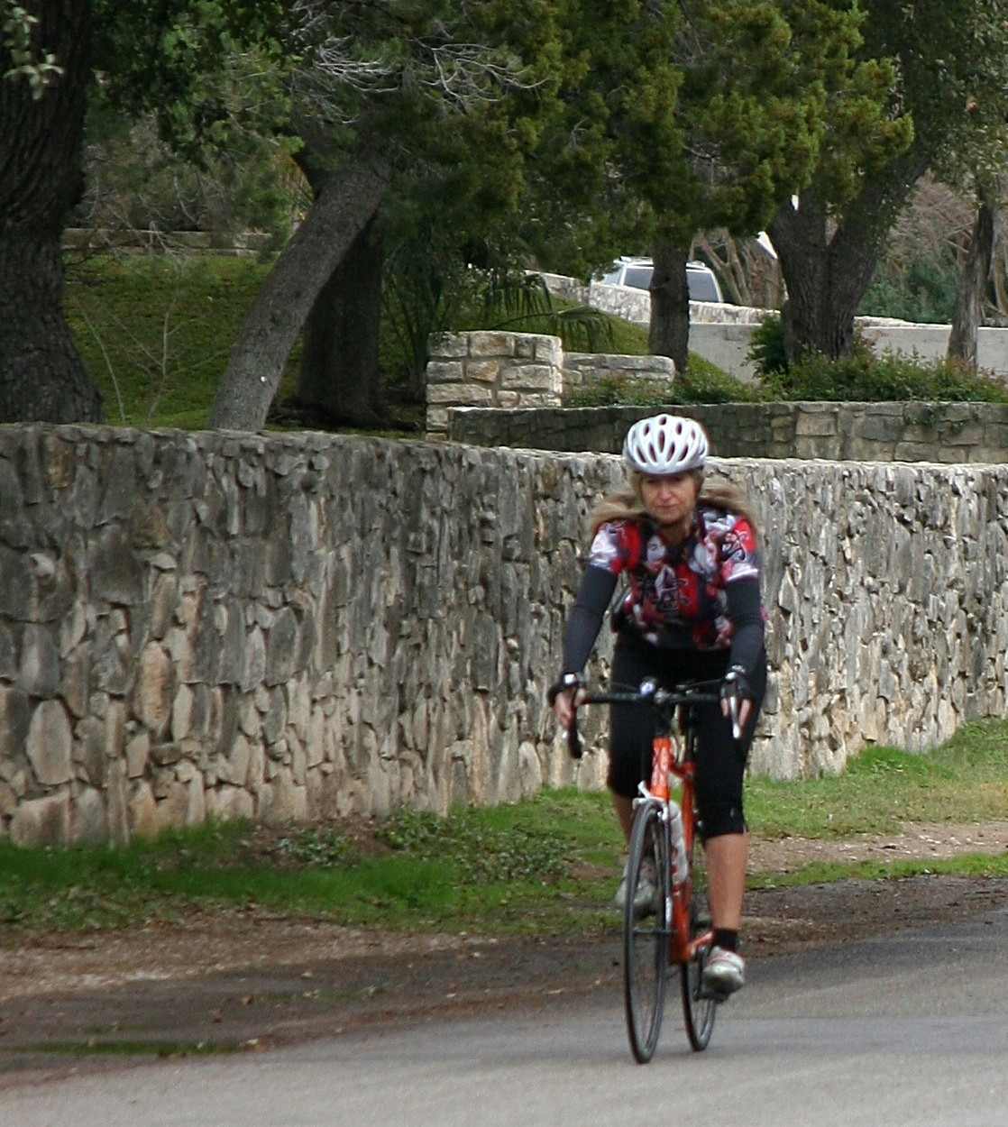 deaton on a bike
