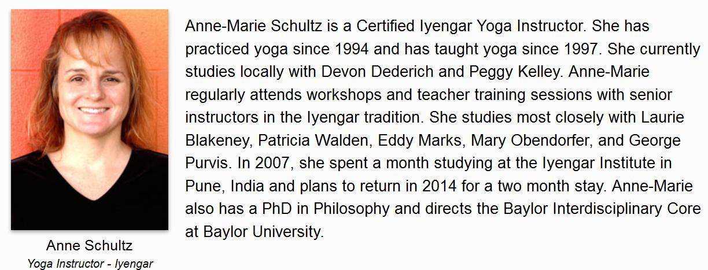 Anne Schultz Bio