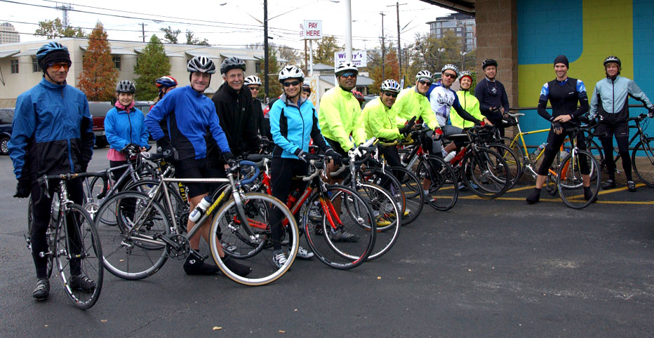 FREE OUTDOOR BIKE RIDES in celebration of Castle Hill Fitness' Founder's Day - February 2014