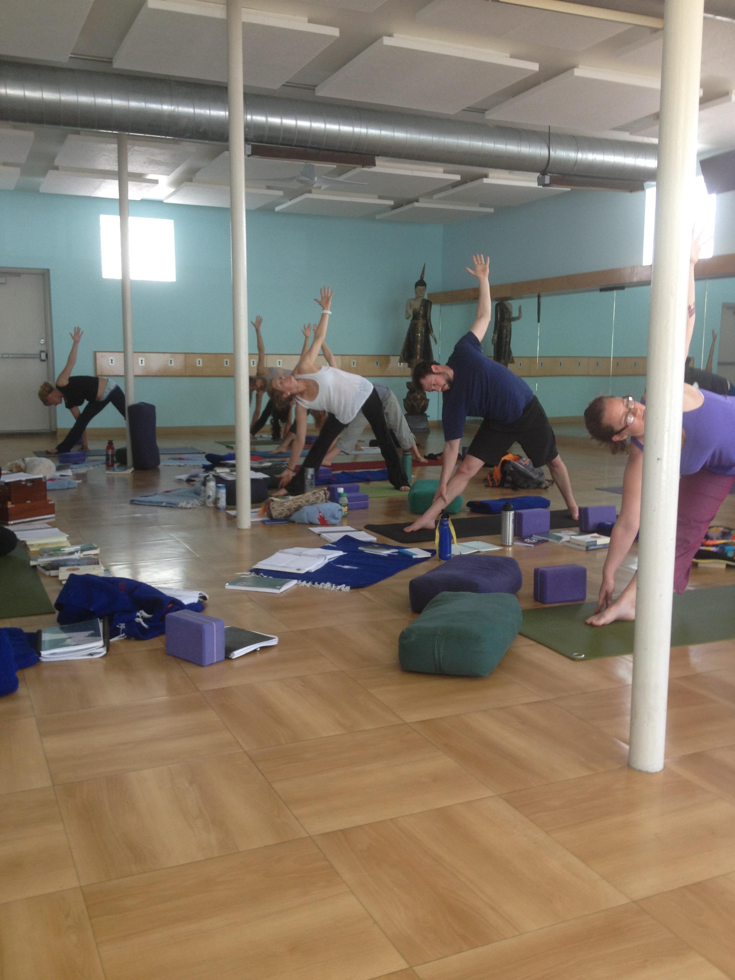 Yoga Illumined Student Practice