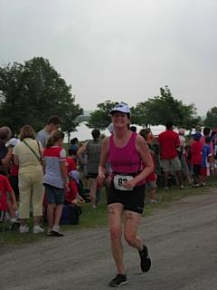 At the 2010 Danskin Triathlon