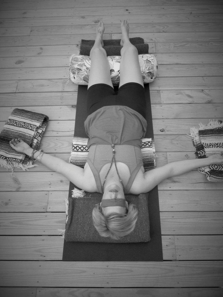 Restorative Yoga & Profound Rest,  by Kori Jones