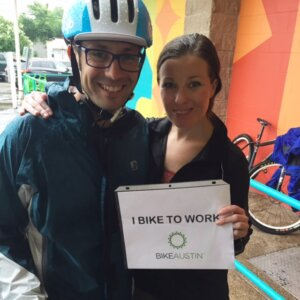 I Bike to Work Austin at Castle Hill Fitness / Food for Fitness Cafe