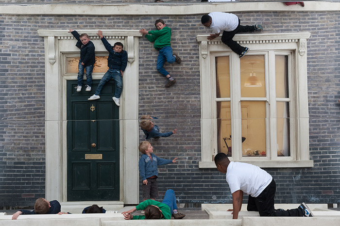 Reflective House by Leandro Erlich