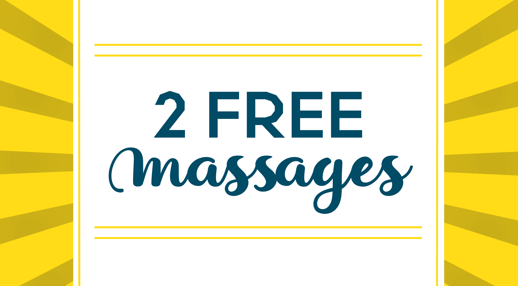 2 Free Massages