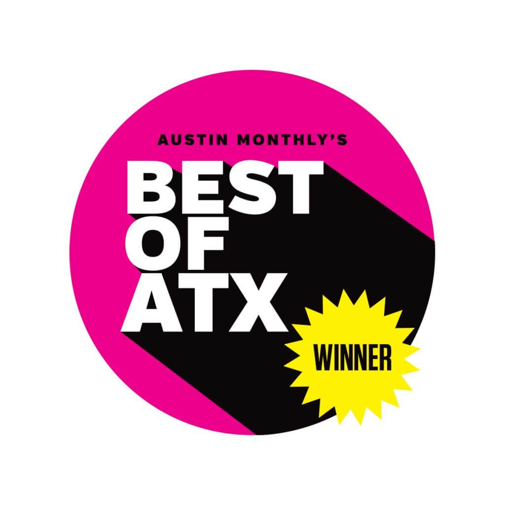 Austin Monthly Best of ATX Reader's Choice Winner Best Gym