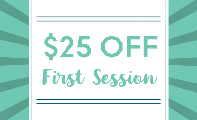 $25 Off First Session