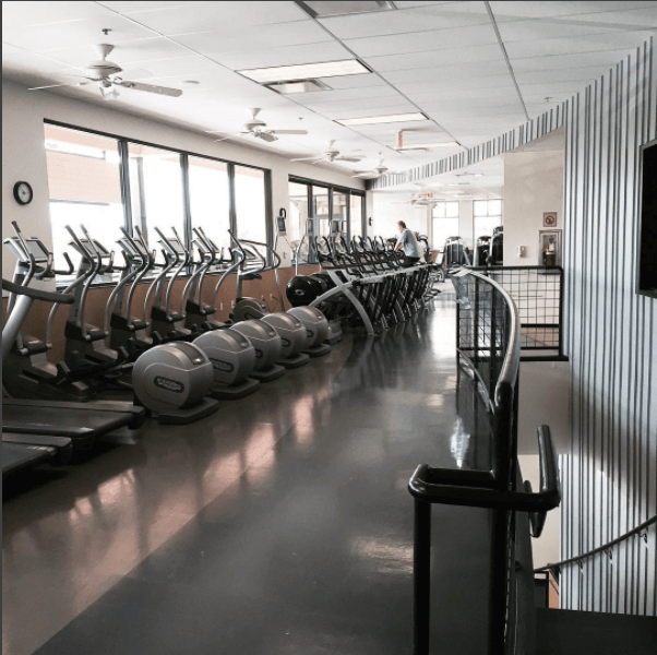 Castle Hill Fitness Second Location Hallway