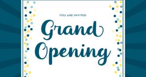 360 Grand Opening Celebration – Friday, Oct 27