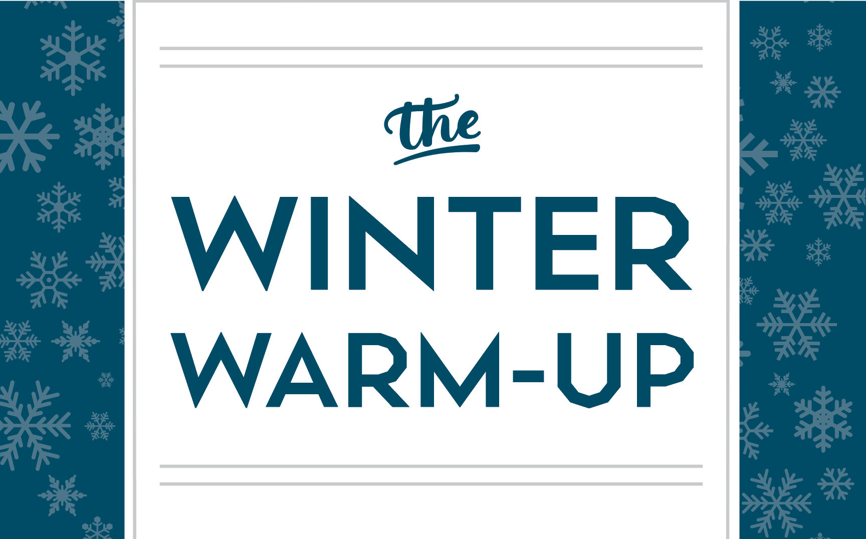 Winter Warm-Up Membership Promotion