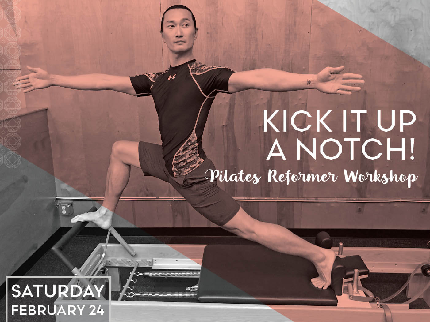 Kick it Up a Notch: Pilates Reformer Workshop