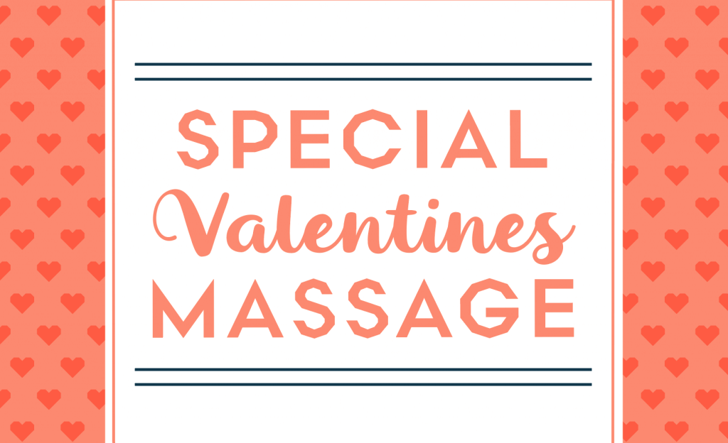 Aromatherapy Massage Valentine's Day