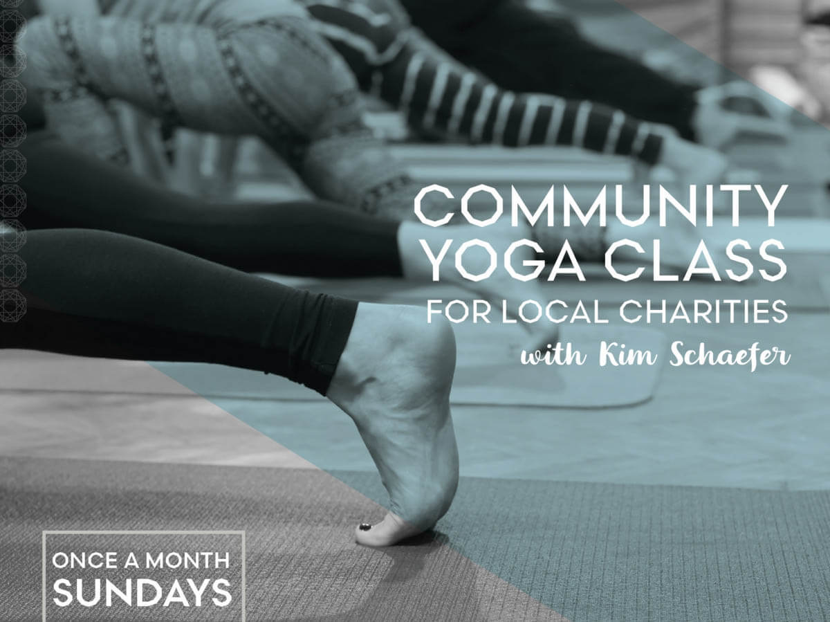 Monthly Community Yoga for Local Charities