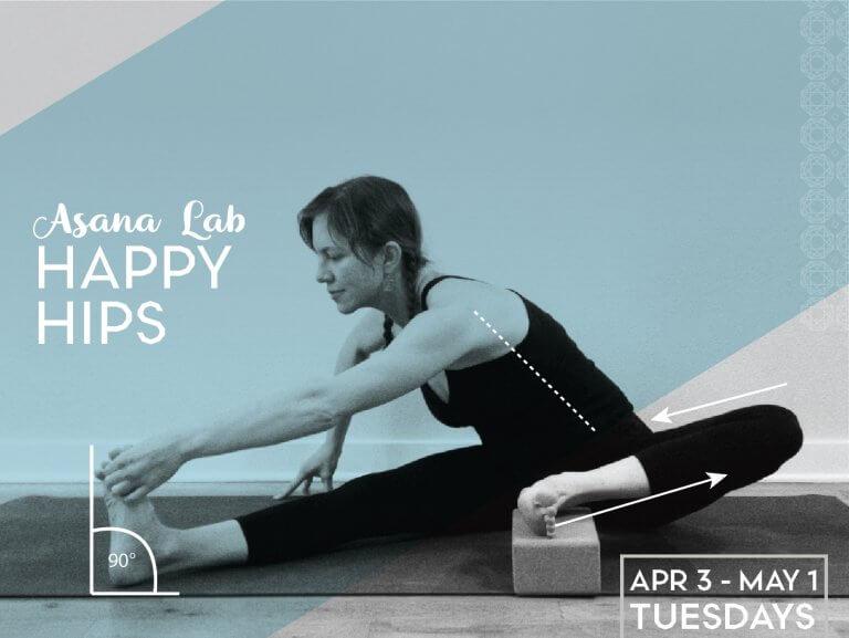 Asana Lab: Happy Hips