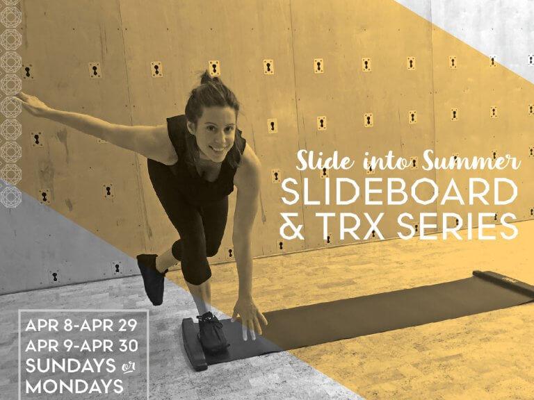 Slide into Summer: Slideboard & TRX Series