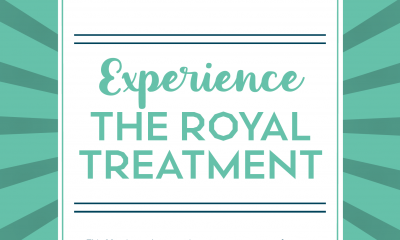Experience the Royal Treatment