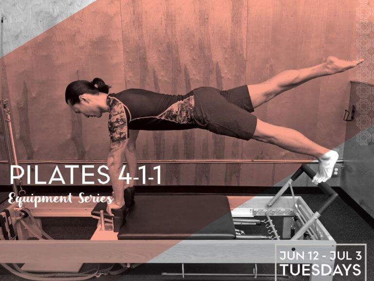 Pilates 4-1-1: Equipment Series