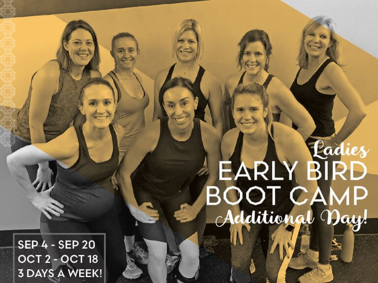 Ladies' Early Bird Boot Camp