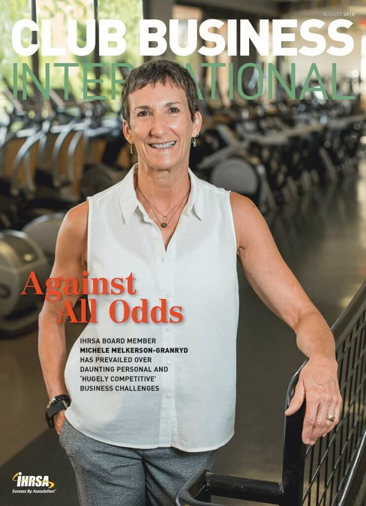 Michele Melkerson-Granryd Club Business International Magazine Cover