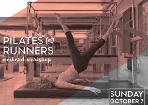 Pilates for Runners: Weekend Workshop