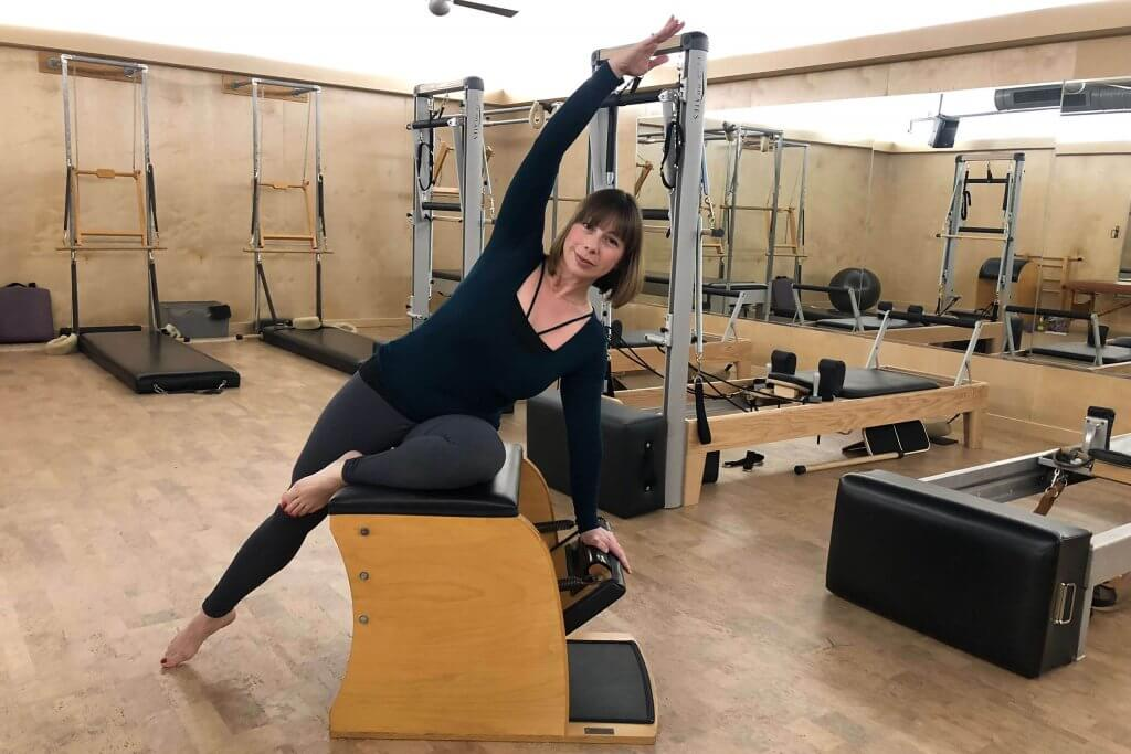 Celeste Stretch and Flow Pilates Class