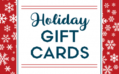 Our Holiday Gift Card is Back!