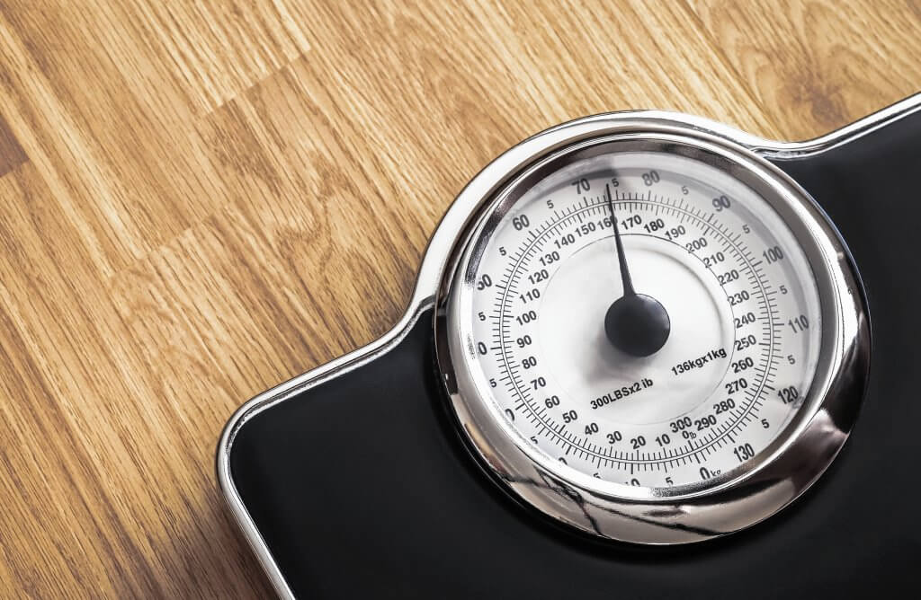 Scale Weight Gain When Stressed