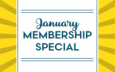 Our January Membership Deal Will Start Your Year Right