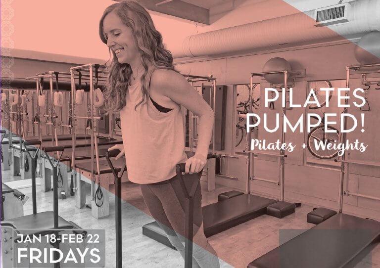 Pilates Pumped: Pilates + Weights