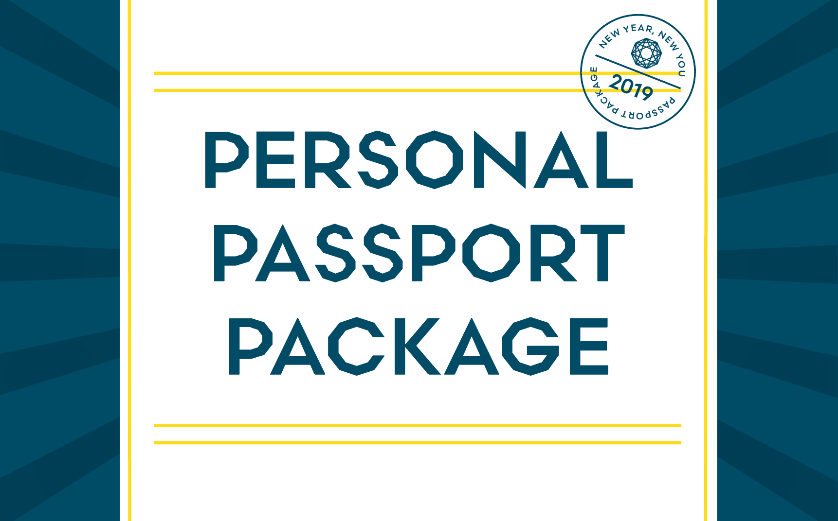 Personal Passport Package Training Promo