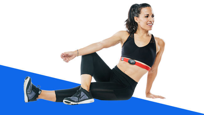 MyZone Woman Stretching