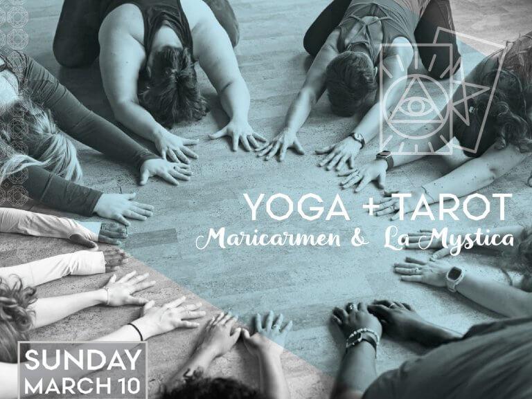 Yoga + Tarot
