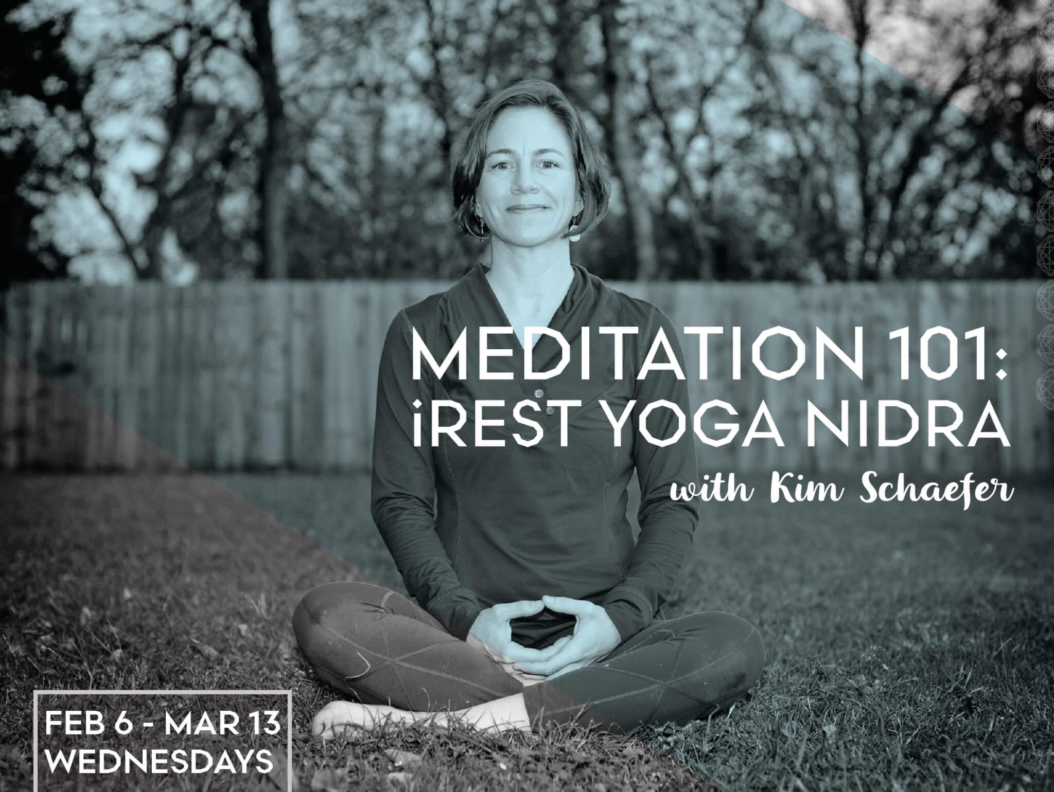 Meditation 101: iRest Yoga Nidra