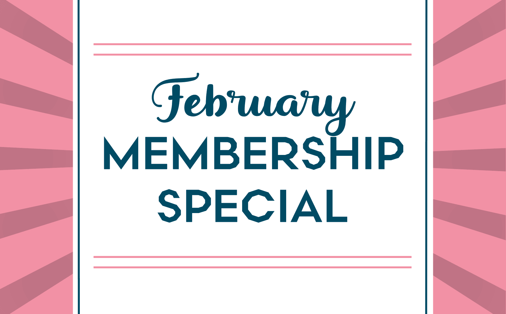 You're Going to LOVE this Membership Deal