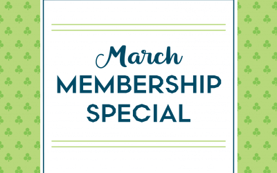 MARCH In For this Membership Special
