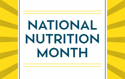 Celebrate National Nutrition Month Imperfectly