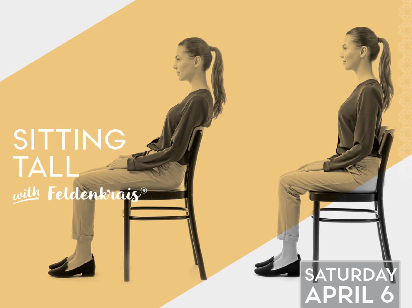 Sitting Tall with Feldenkrais®: Weekend Workshop