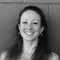 Erica Vetra Yoga Instructor Black and White Photo