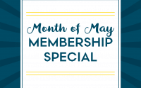 Month of May Gym Membership Special