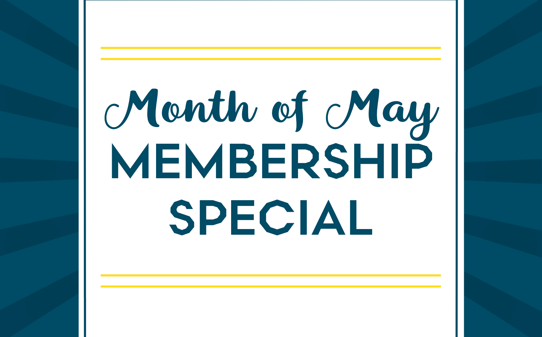 May Membership Special for Castle Hill Fitness