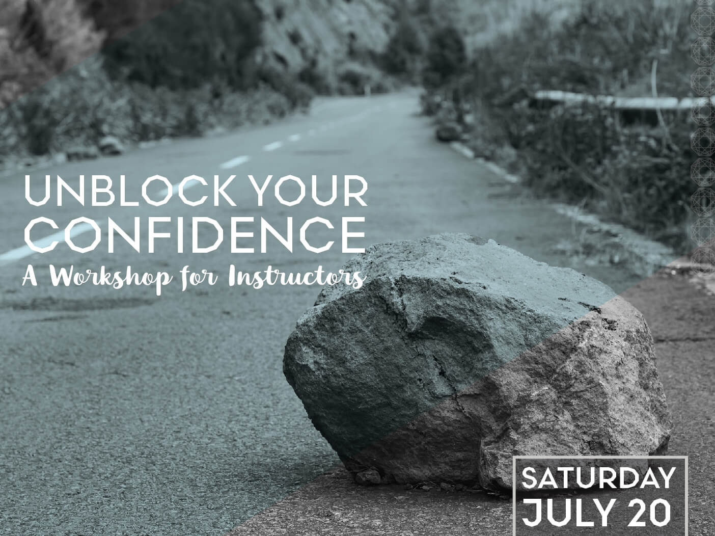 Unblock Your Confidence: A Workshop for Instructors