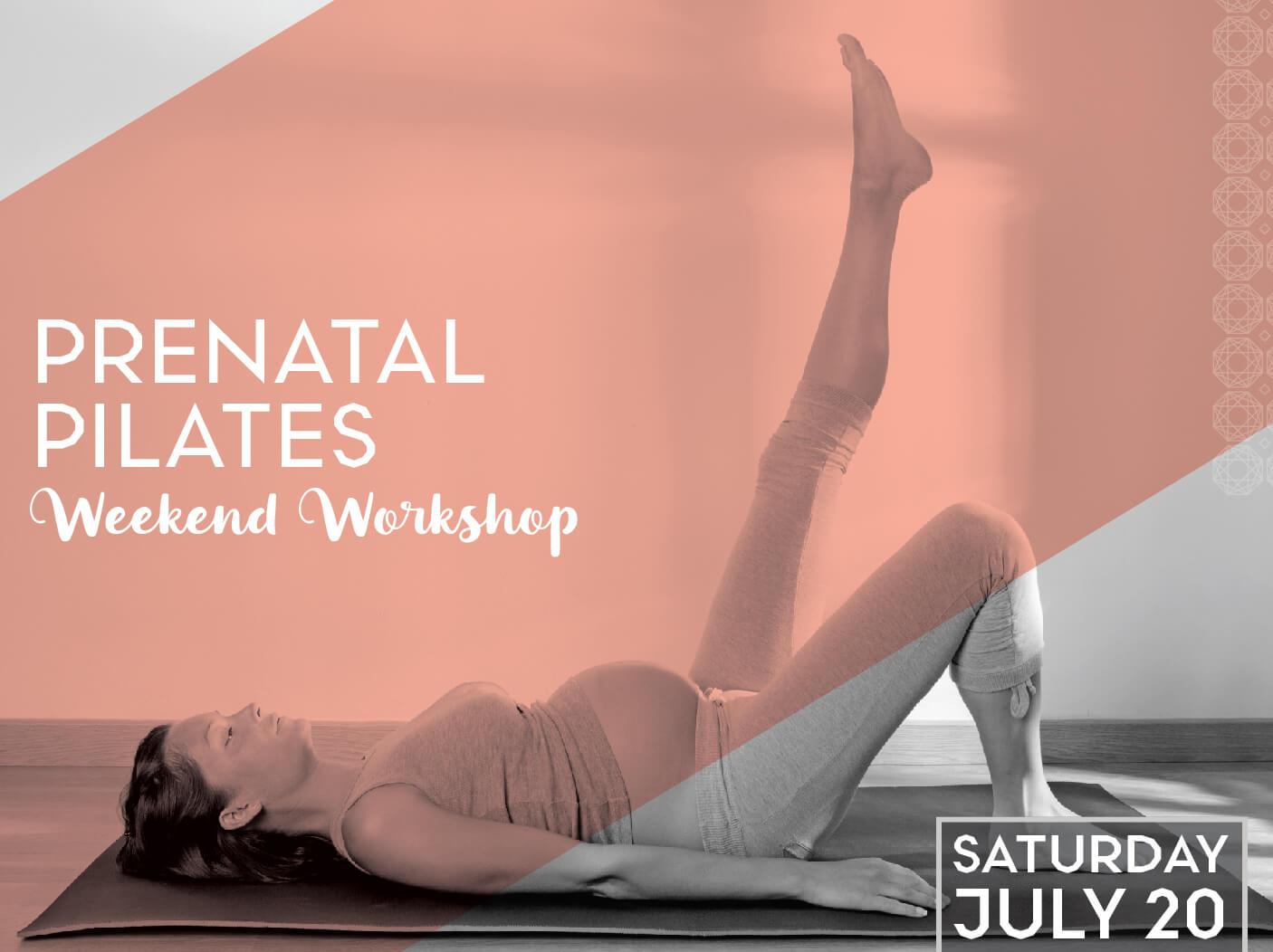 Prenatal Pilates: Weekend Workshop