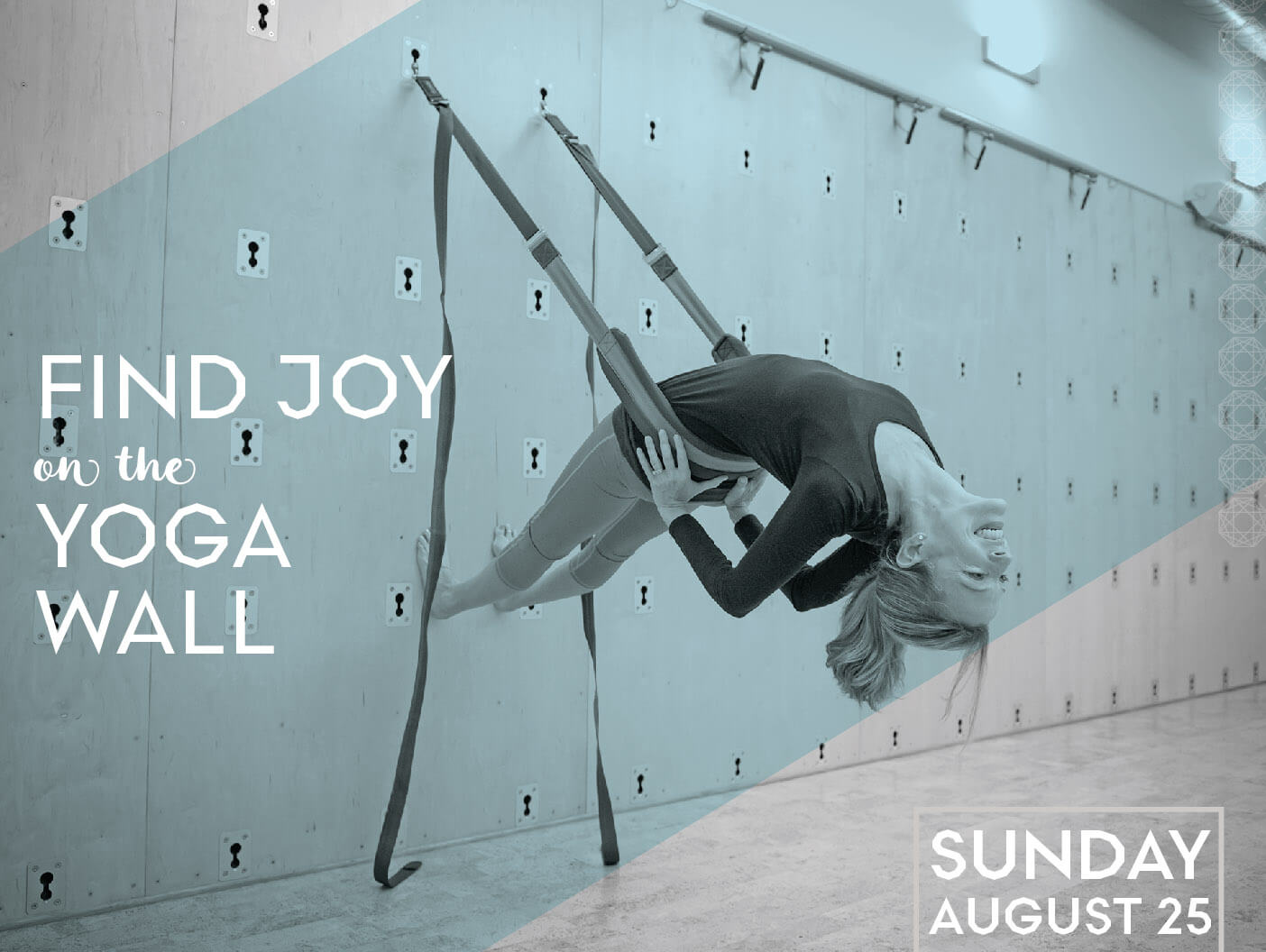 Find Joy on the Yoga Wall