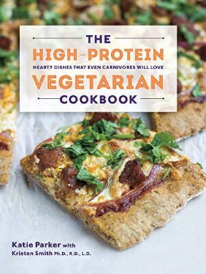 The High Protein Vegetarian Cookbook Cover