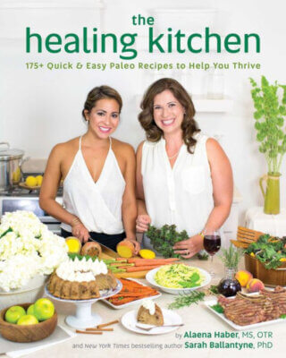 The Healing Kitchen Cookbook Cover