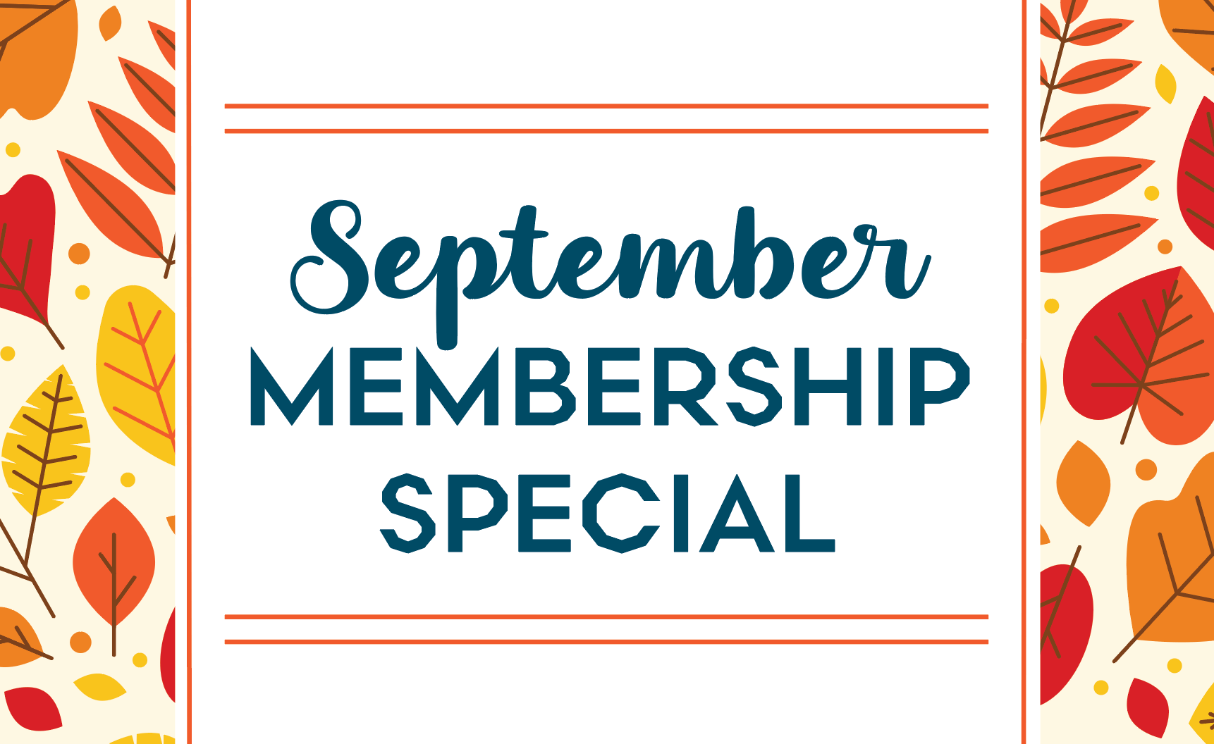 September Gym Membership Promo